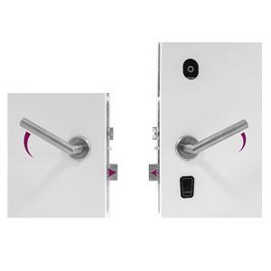 Serrure Électronique d'Hôtel EVO – Confidencialité avec Double Poignée Réversible